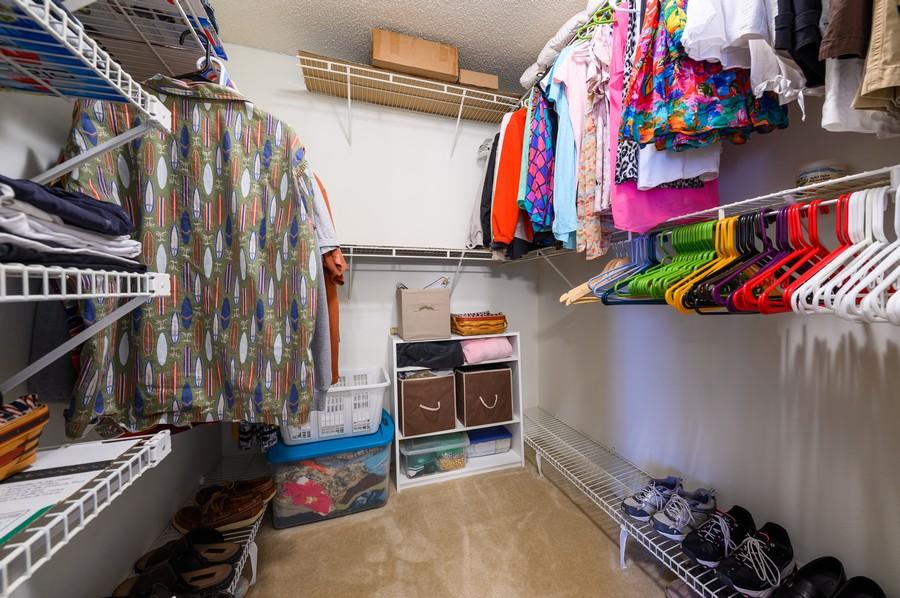 Real Estate Photography - 5912 Via Delray, B, Delray Beach, FL, 33484 - Master Bedroom Closet