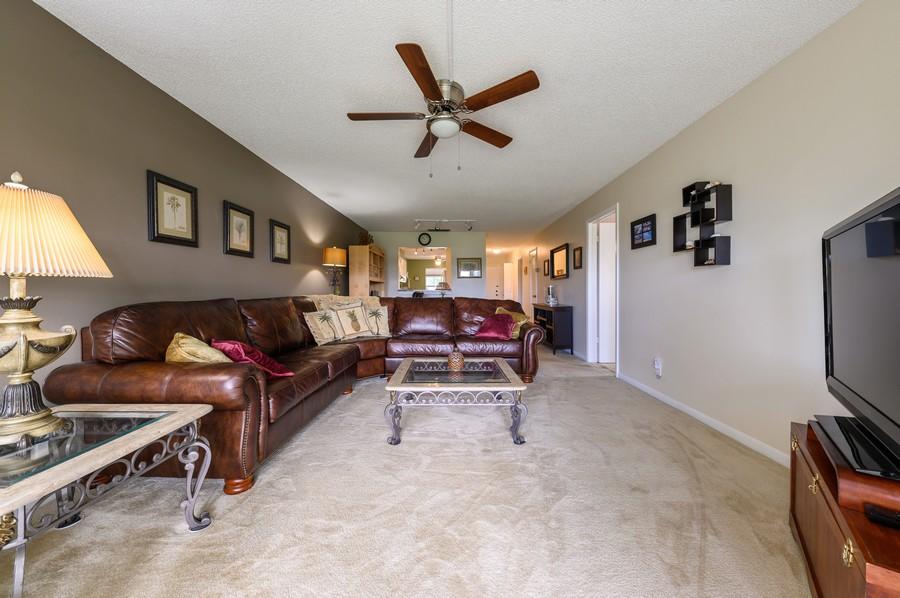 Real Estate Photography - 5912 Via Delray, B, Delray Beach, FL, 33484 - Living Room / Dining Room
