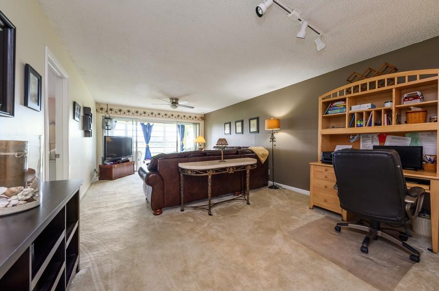 Real Estate Photography - 5912 Via Delray, B, Delray Beach, FL, 33484 - Living Room/Dining Room