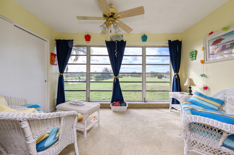 Real Estate Photography - 5912 Via Delray, B, Delray Beach, FL, 33484 - Sun Room