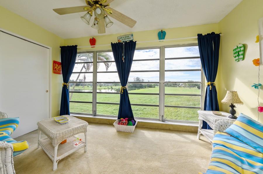 Real Estate Photography - 5912 Via Delray, B, Delray Beach, FL, 33484 - Sunroom