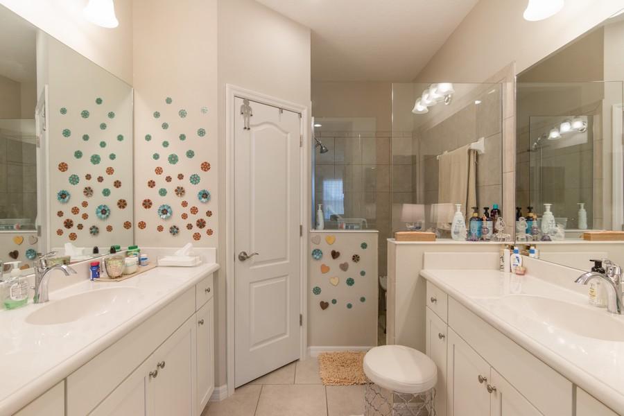 Real Estate Photography - 1963 Crystal Lake Trail, Bradenton, FL, 34211 - Master Bathroom