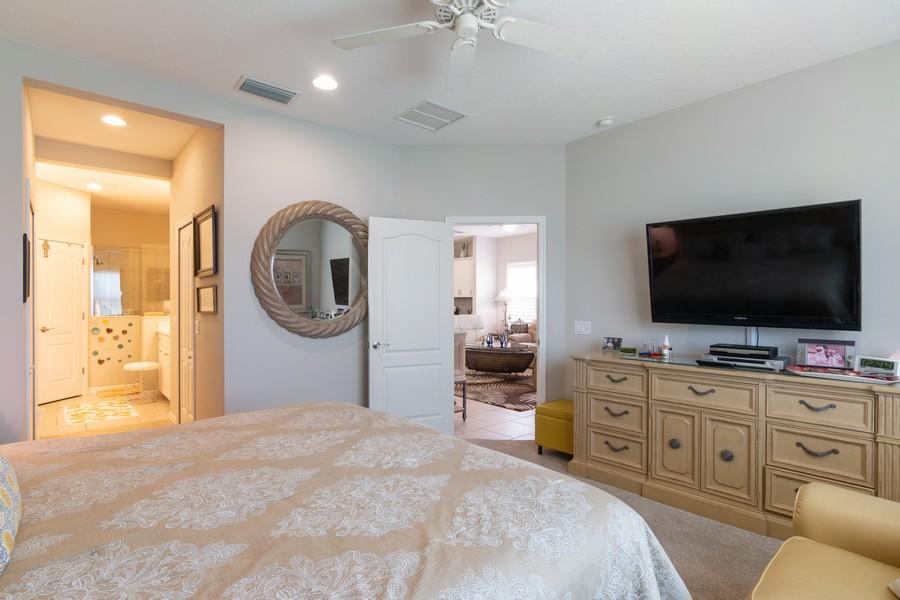 Real Estate Photography - 1963 Crystal Lake Trail, Bradenton, FL, 34211 - Master Bedroom
