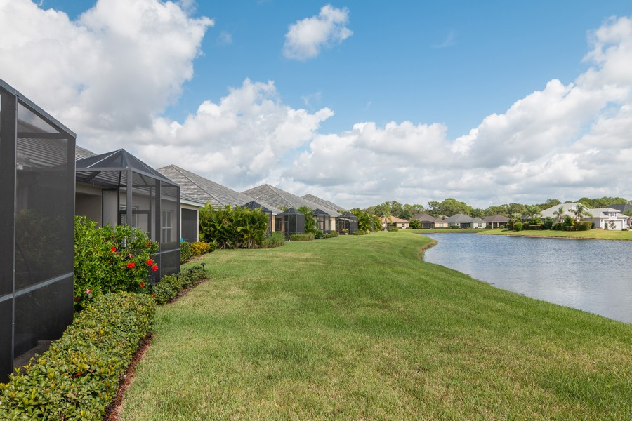 Real Estate Photography - 1963 Crystal Lake Trail, Bradenton, FL, 34211 - Back Yard