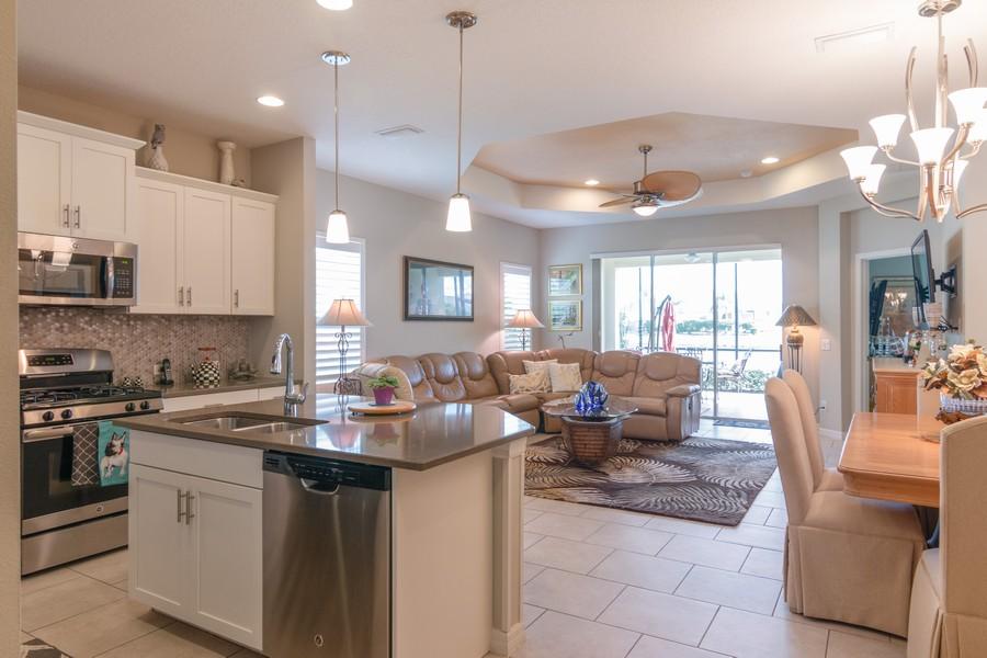 Real Estate Photography - 1963 Crystal Lake Trail, Bradenton, FL, 34211 - Living Room/Dining Room