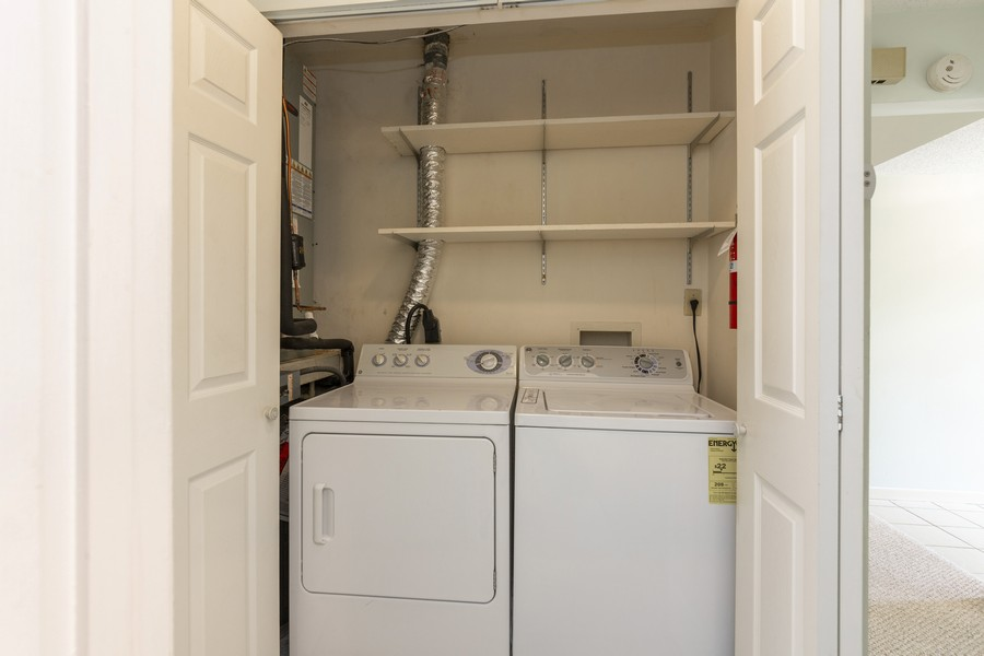 Real Estate Photography - 1410 57th Street West, Bradenton, FL, 34209 - Laundry Room