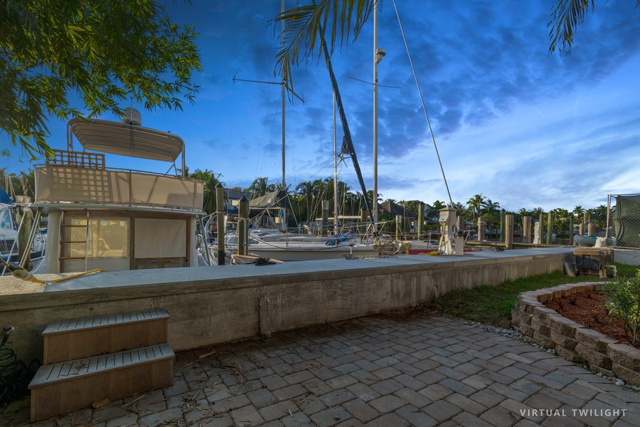 Real Estate Photography - 133 Hendricks Isle, Fort Lauderdale, FL, 33301 - Back Yard