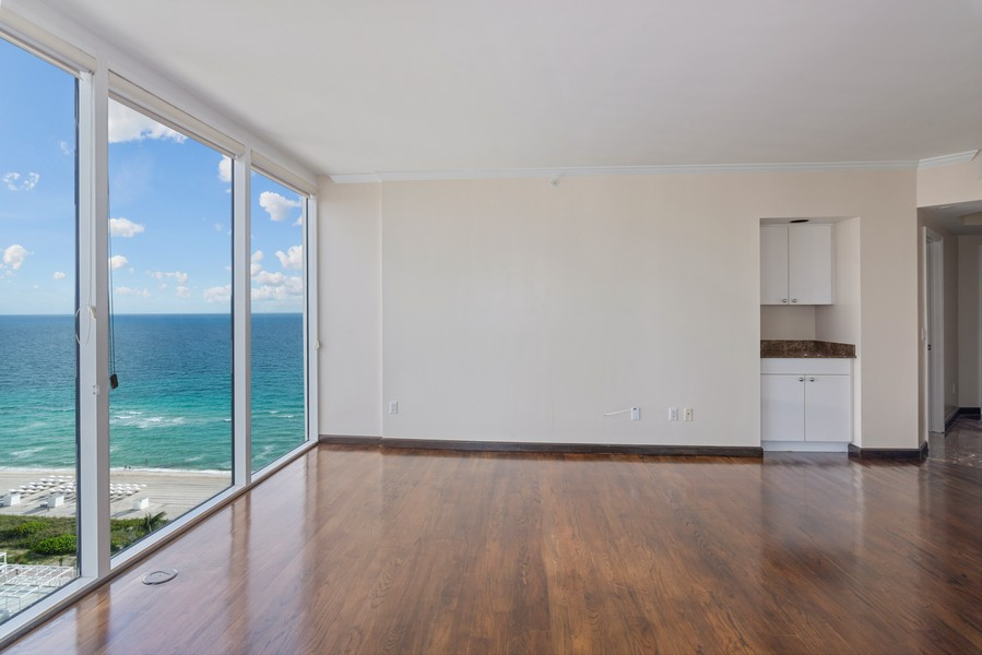 Real Estate Photography - 4779 Collins Ave., Unit 2007, Miami Beach, FL, 33140 - Living Room