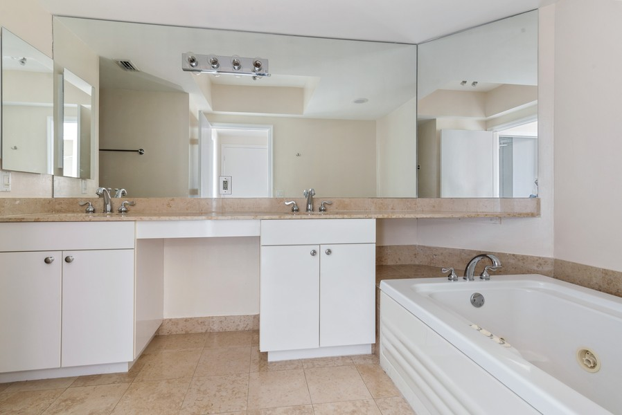 Real Estate Photography - 4779 Collins Ave., Unit 2007, Miami Beach, FL, 33140 - Master Bathroom