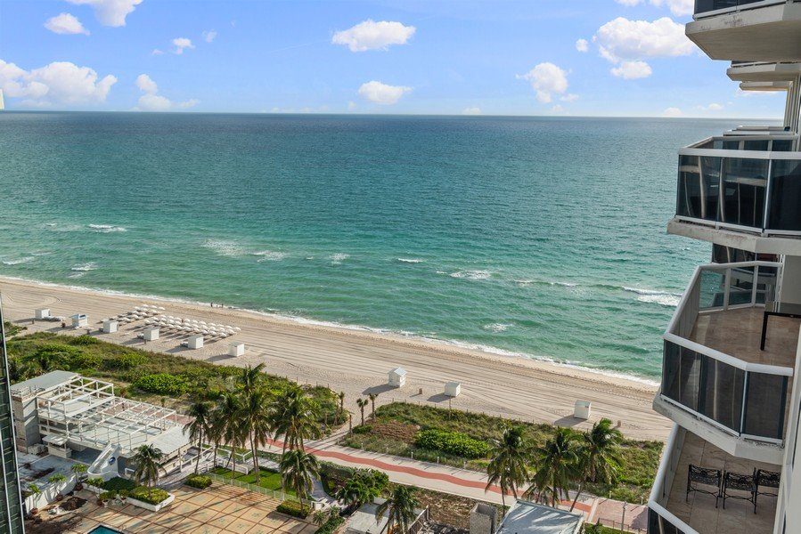 Real Estate Photography - 4779 Collins Ave., Unit 2007, Miami Beach, FL, 33140 - Ocean View