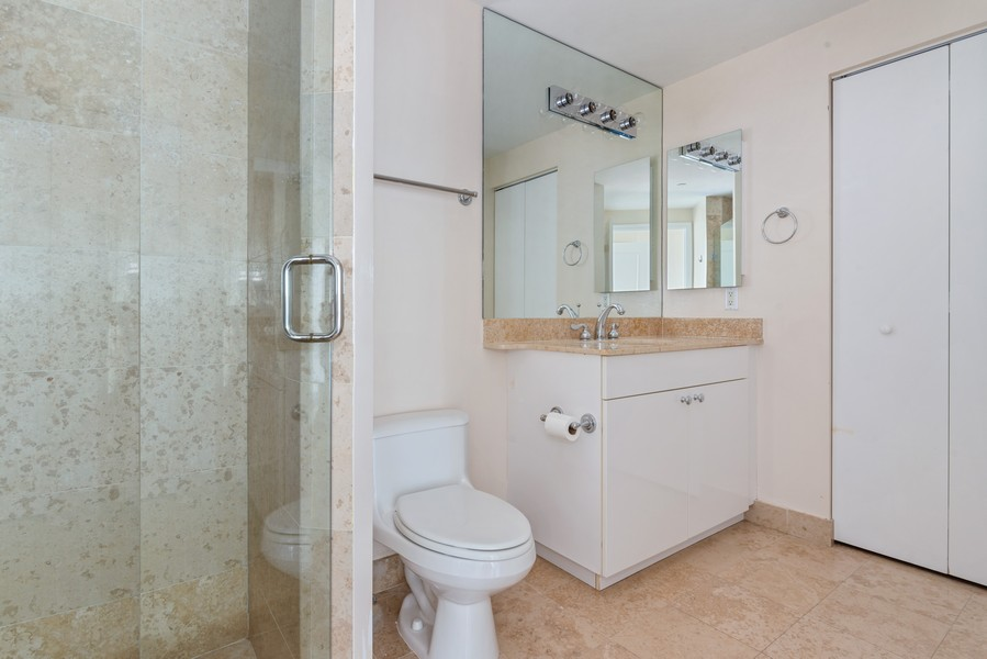 Real Estate Photography - 4779 Collins Ave., Unit 2007, Miami Beach, FL, 33140 - 2nd Bathroom
