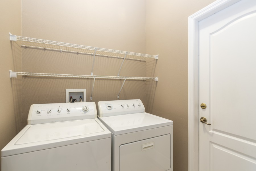 Real Estate Photography - 140 Red Maple Burl Cir, Debary, FL, 32713 - Laundry Room
