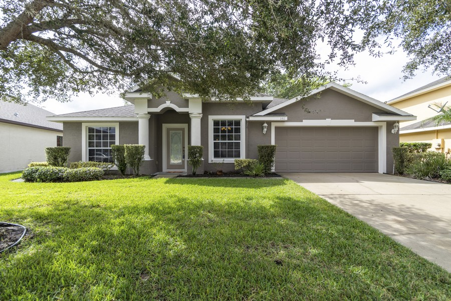 Real Estate Photography - 140 Red Maple Burl Cir, Debary, FL, 32713 - Front View