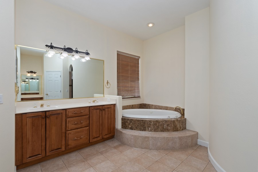 Real Estate Photography - 1569 Westover Loop, Lake Mary, FL, 32746 - Master Bathroom