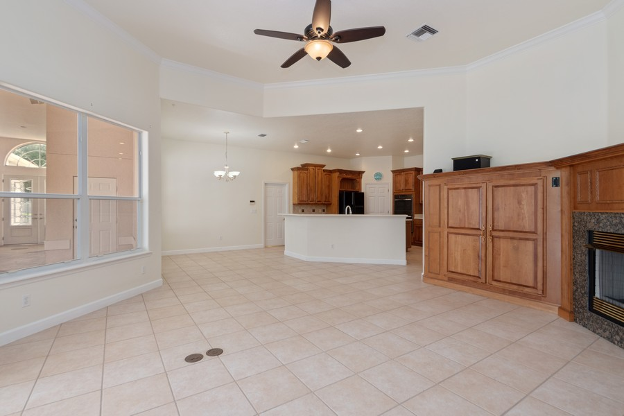 Real Estate Photography - 1569 Westover Loop, Lake Mary, FL, 32746 - Family Room