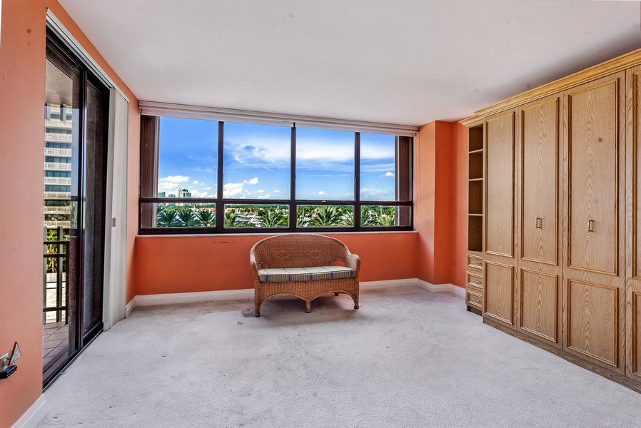 Real Estate Photography - 3 Grove Isle Dr. #C506, Miami, FL, 33133 - Bedroom