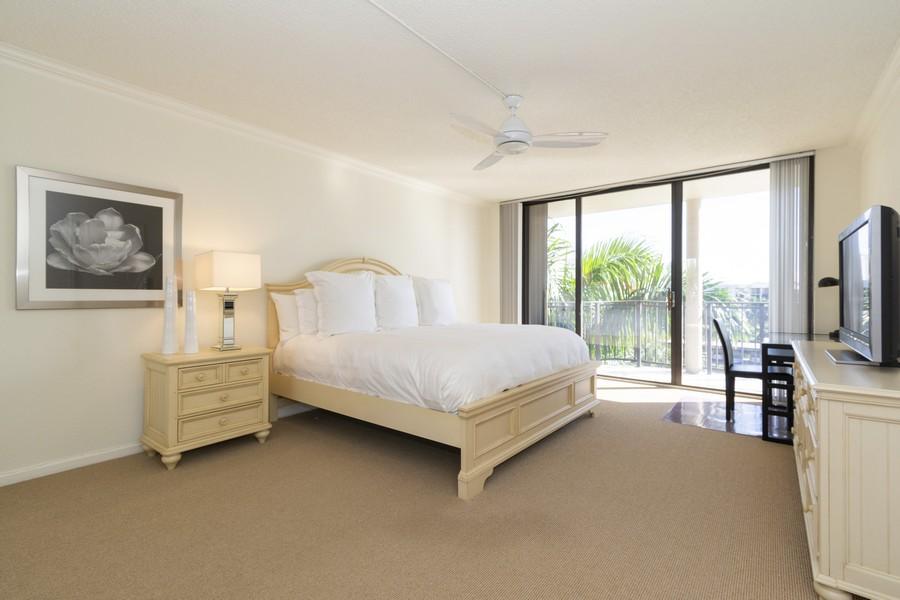 Real Estate Photography - 1401 S Ocean Blvd, #403, Boca Raton, FL, 33432 - Master Bedroom
