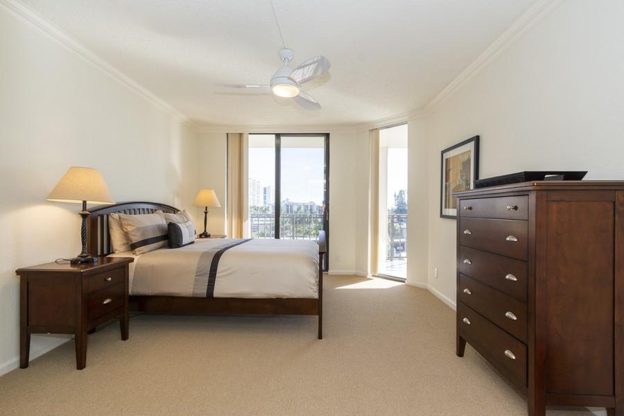 Real Estate Photography - 1401 S Ocean Blvd, #403, Boca Raton, FL, 33432 - Bedroom