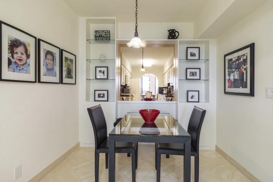 Real Estate Photography - 1401 S Ocean Blvd, #403, Boca Raton, FL, 33432 - Breakfast Room