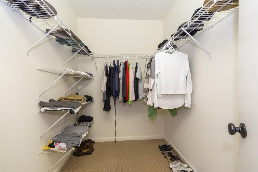 Real Estate Photography - 1401 S Ocean Blvd, #403, Boca Raton, FL, 33432 - Master Bedroom Closet