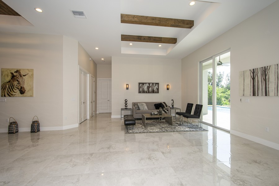 Real Estate Photography - 12100 NW 27th Street, Plantation, FL, 33323 - Living Room