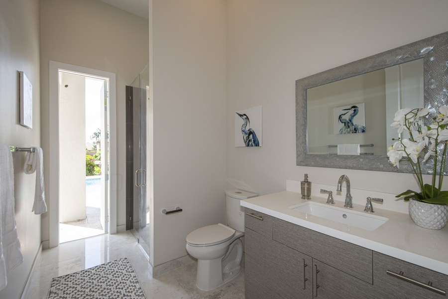 Real Estate Photography - 12100 NW 27th Street, Plantation, FL, 33323 - 5th Bathroom