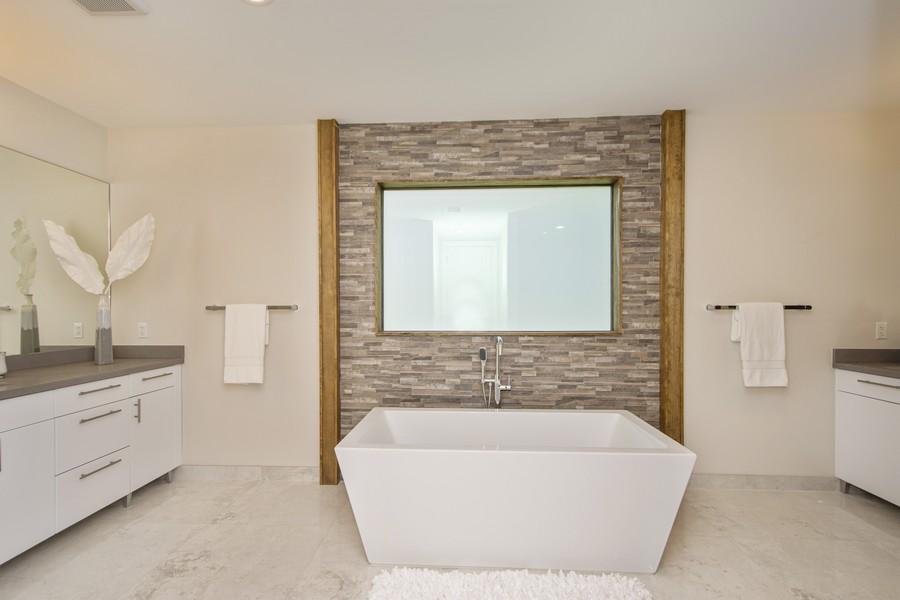 Real Estate Photography - 12100 NW 27th Street, Plantation, FL, 33323 - Master Bathroom