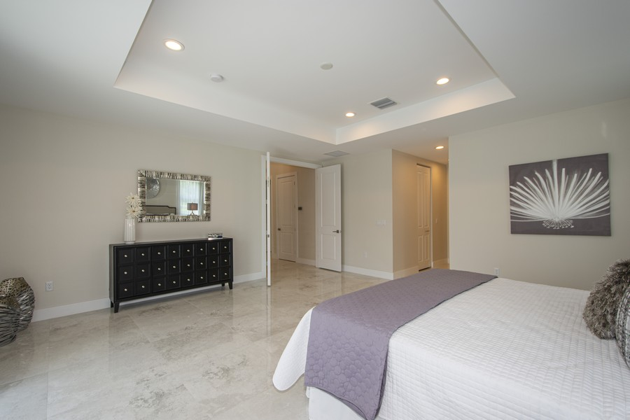 Real Estate Photography - 12100 NW 27th Street, Plantation, FL, 33323 - Master Bedroom