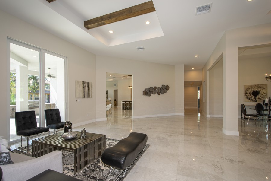 Real Estate Photography - 12100 NW 27th Street, Plantation, FL, 33323 - Great Room