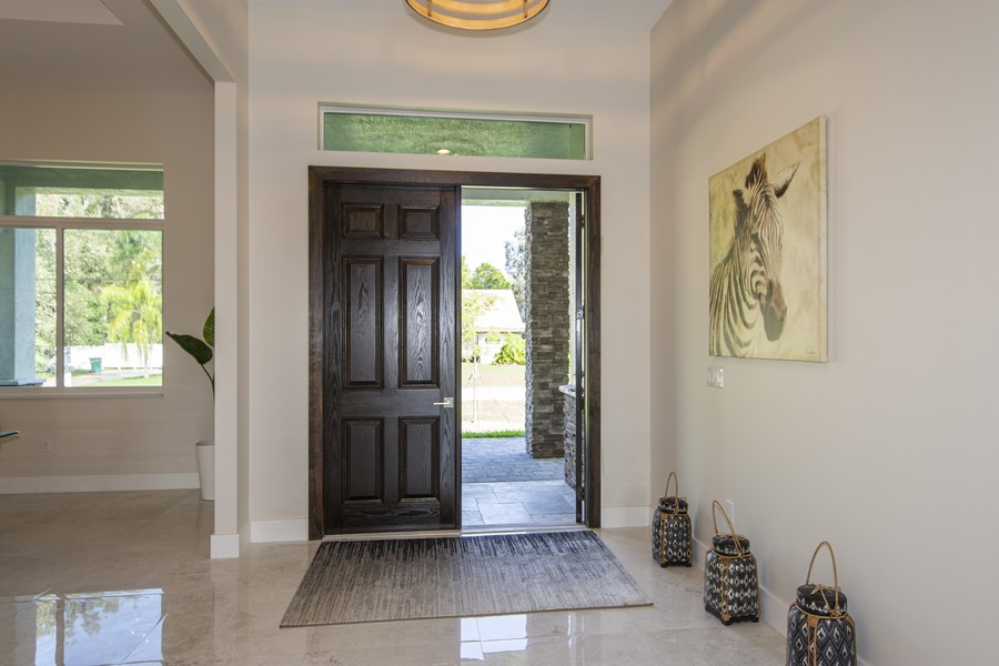 Real Estate Photography - 12100 NW 27th Street, Plantation, FL, 33323 - Foyer