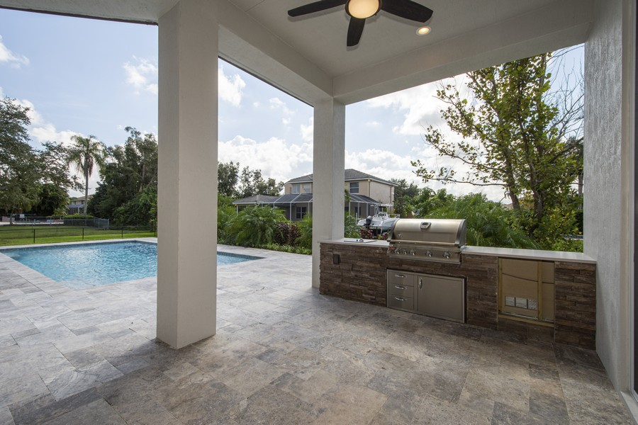 Real Estate Photography - 12100 NW 27th Street, Plantation, FL, 33323 - Barbeque / Picnic Area