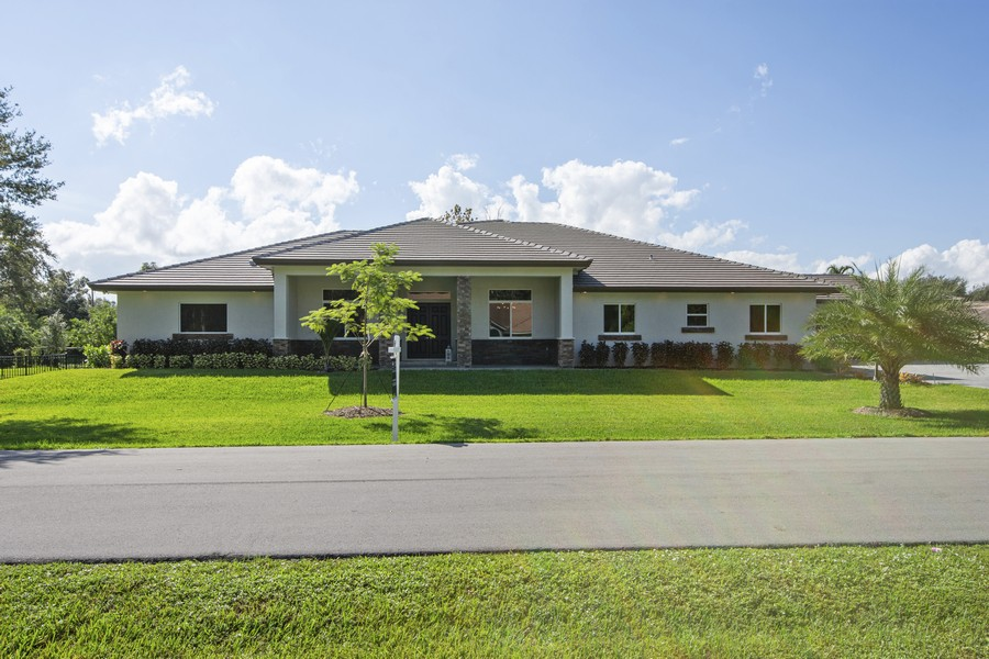 Real Estate Photography - 12100 NW 27th Street, Plantation, FL, 33323 - Front View