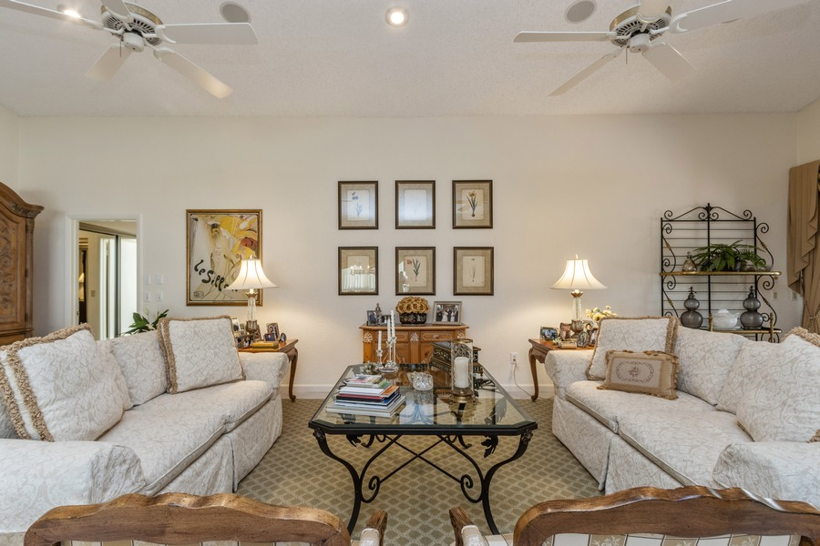 Real Estate Photography - 11150 Clover Leaf Cir, Boca Raton, FL, 33428 - Living Room