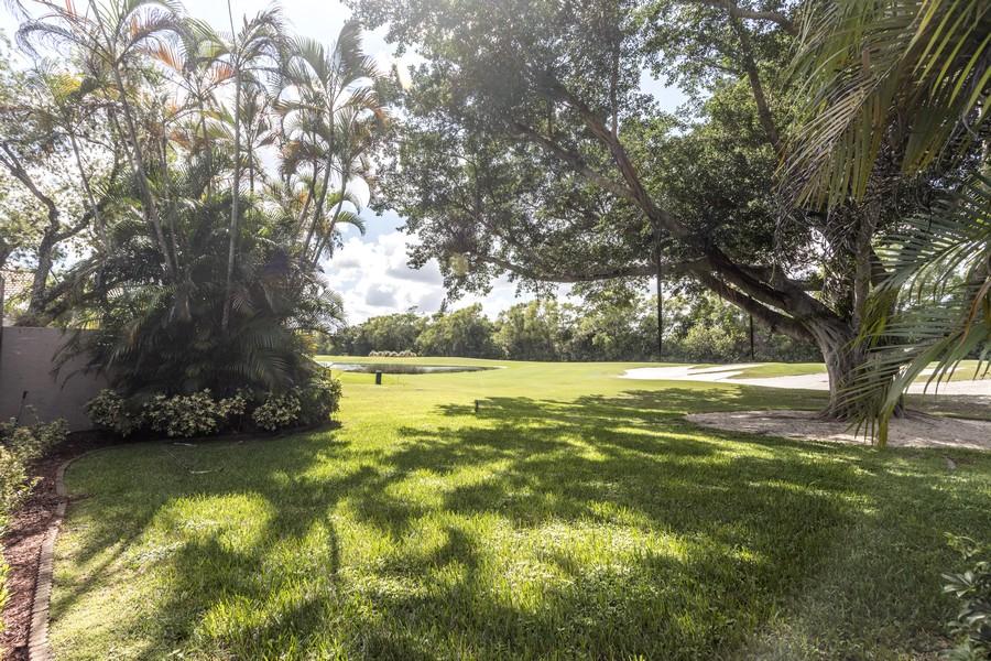 Real Estate Photography - 11150 Clover Leaf Cir, Boca Raton, FL, 33428 - Back Yard