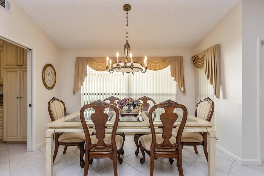 Real Estate Photography - 11150 Clover Leaf Cir, Boca Raton, FL, 33428 - Dining Room