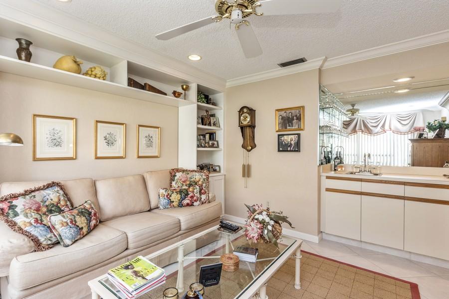 Real Estate Photography - 11150 Clover Leaf Cir, Boca Raton, FL, 33428 - Den