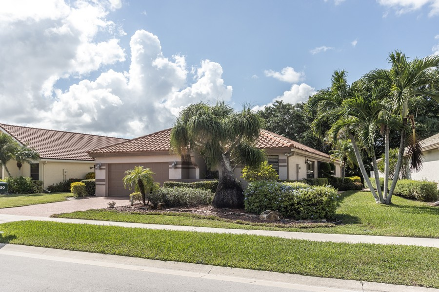 Real Estate Photography - 11150 Clover Leaf Cir, Boca Raton, FL, 33428 - Front View
