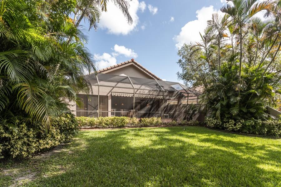 Real Estate Photography - 11150 Clover Leaf Cir, Boca Raton, FL, 33428 - Rear View