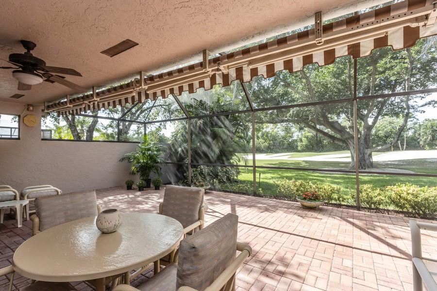 Real Estate Photography - 11150 Clover Leaf Cir, Boca Raton, FL, 33428 - Patio