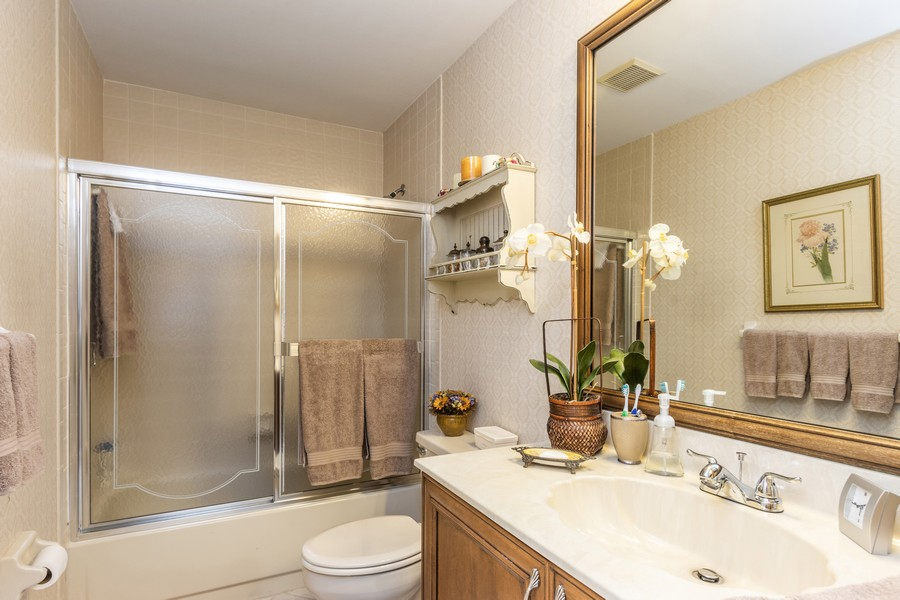 Real Estate Photography - 11150 Clover Leaf Cir, Boca Raton, FL, 33428 - 2nd Bathroom