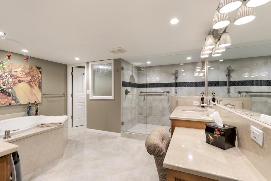 Real Estate Photography - 5601 Turtle Bay Dr, Unit 2004, Naples, FL, 34108 - Master Bathroom