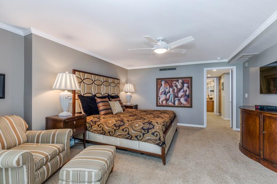 Real Estate Photography - 5601 Turtle Bay Dr, Unit 2004, Naples, FL, 34108 - Master Bedroom