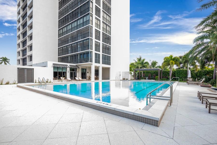 Real Estate Photography - 5601 Turtle Bay Dr, Unit 2004, Naples, FL, 34108 - Pool