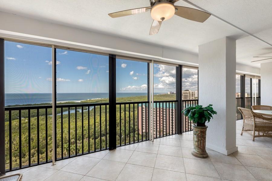 Real Estate Photography - 5601 Turtle Bay Dr, Unit 2004, Naples, FL, 34108 - Lanai