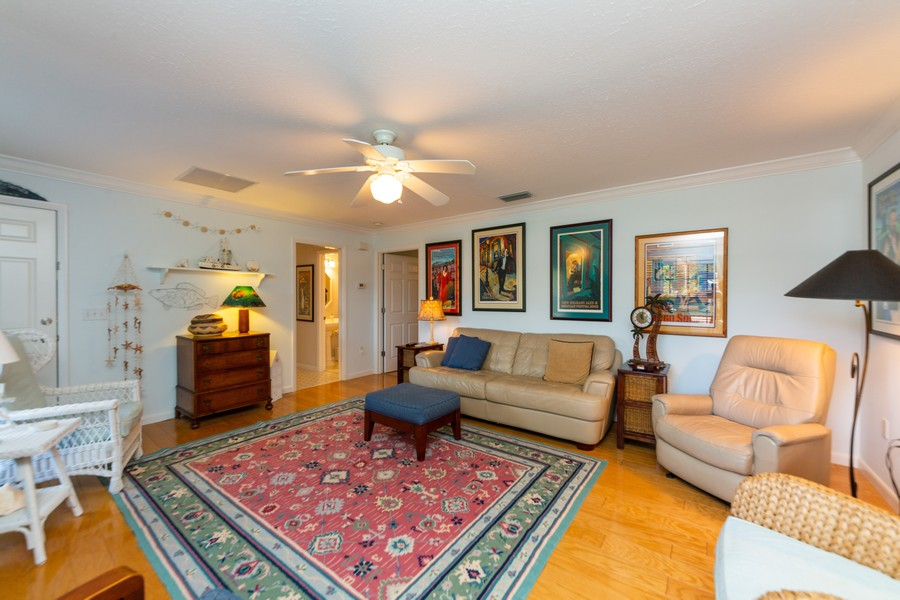 Real Estate Photography - 415 Bluebell Rd, Venice, FL, 34293 - Family Room