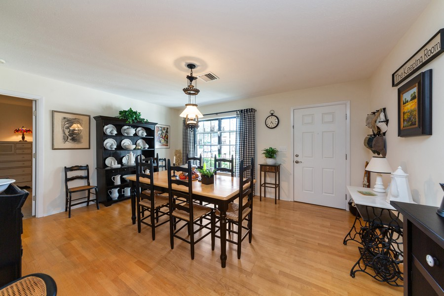 Real Estate Photography - 415 Bluebell Rd, Venice, FL, 34293 - Dining Room