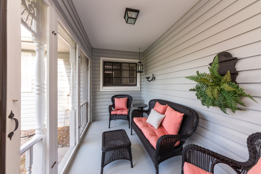 Real Estate Photography - 415 Bluebell Rd, Venice, FL, 34293 - Porch