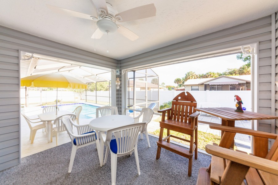 Real Estate Photography - 415 Bluebell Rd, Venice, FL, 34293 - Patio