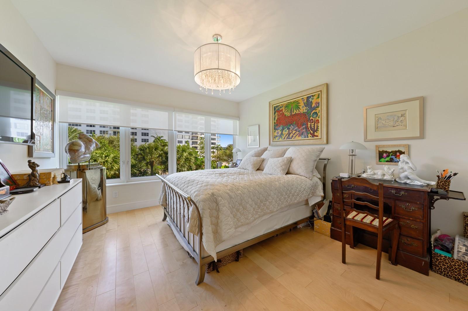 Real Estate Photography - 701 E. Camino Real, #3-C, Boca Raton, FL, 33432 - Master Bedroom