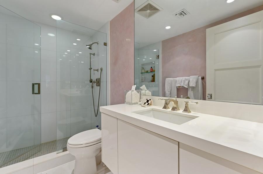Real Estate Photography - 701 E. Camino Real, #3-C, Boca Raton, FL, 33432 - Master Bathroom
